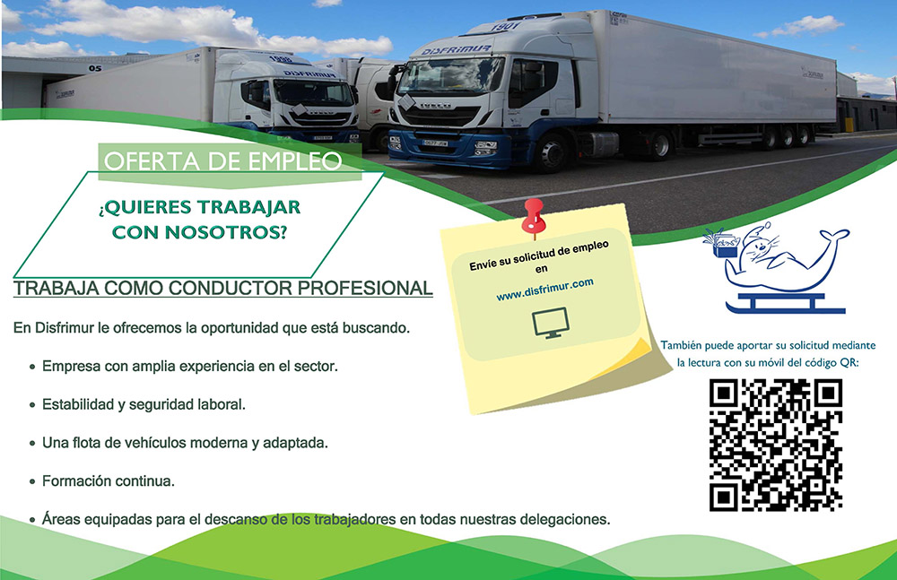 Oferta empleo conduccion